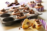 World Baking Day: Nutty Chocolate Cookie Cupcakes