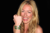 Cat Deeley with her Good Works bracelet