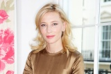 Cate Blanchett looks beautiful in her toffee dress and glowing skin