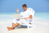 Half of Professionals Check Emails Every Day on Holiday