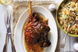 Glazed lamb with Jewelled couscous