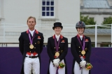 Team GB Dressage Gold Medal Winners