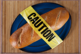 Gluten, found in bread, is not a friend to those with coeliac disease