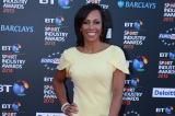 Kelly Holmes looked beautiful in Maria Grachvogel