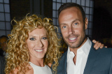Kelly Hoppen pictured here with Jason Gardiner