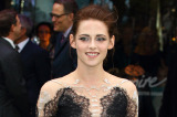 Kristen Stewart went for gothic glam