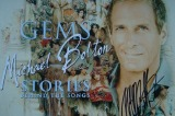 MIchael Bolton Signed Booklet