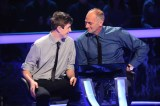 Sir Steve Redgrave and his son Zak on Millionaire.
