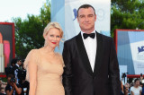 Naomi Watts and her partner Liev Schreiber