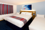 The brand new Travelodge room