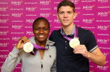 Nicola Adams And Luke Campbell