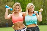 Sam and Billie Faiers are helping to support Race for Life this year