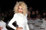 Rita Ora looked beautiful in white at the MOBO awards
