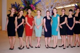 All hostesses are outfitted in the stunning designs