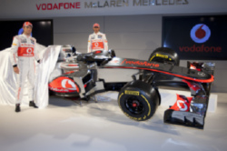 McLaren 2012 Car Unveiled