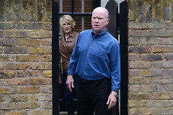 Phil Mitchell and Shirley Carter