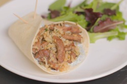 Angela Griffin's Lamb Wrap Recipe