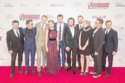 Avengers Age Of Ultron European Premiere