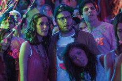 Seth Rogen and Rose Byrne in Bad Neighbours