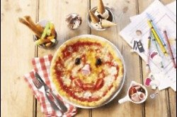 Kids are encouraged to get creative in Zizzi's