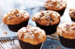 Sticky Toffee Banoffee Muffins