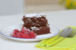 Phil Vickery's Gluten Free Brownie