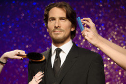 Christian Bale at Madame Tussauds