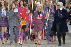 Cara Delevingne leads the fashion protest