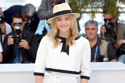 Chloe Moretz wears Chanel in Cannes