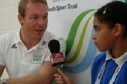 Chris Hoy - National School Sports Week
