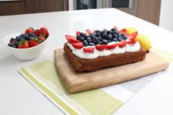 Phil Vickery's Coco Rice Polenta Cake