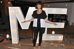 Dawn O'Porter at a recent TK Maxx event
