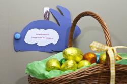 Hazel Ball Easter Bunting