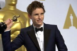 Eddie Redmayne Cannot Remember Oscar Speech