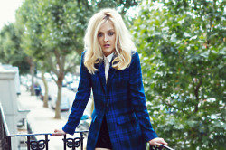 We love this plaid pea coat from the Fearne Cotton collection