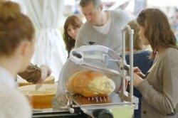 Chef Jun Tanaka at the Foodies Festival