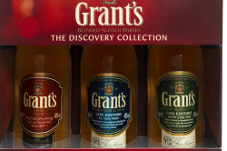 A bottle of Grant's whiskey is sure to go down a treat
