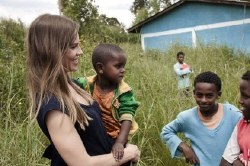 Hilary Swank In Ethiopia