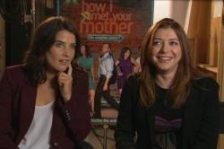 Cobie Smulders and Alyson Hannigan talk How I Met Your Mother