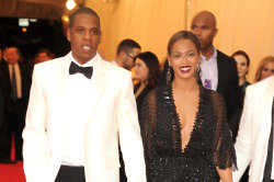 Beyonce and Jay Z at the Met Ball before the attack