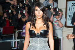 Kim Kardashian flaunts her figure, every chance she gets