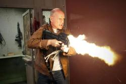 Bruce Willis Talks About Looper