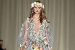 The finale gown at Marchesa SS15