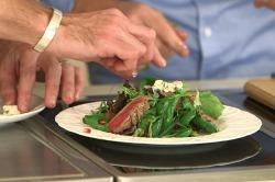 VIDEO: Matt Dawson's Warm Steak and Roquefort Salad