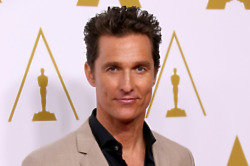 Matthew McConaughey certainly looks well for his age