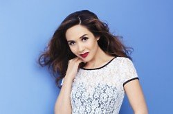 We love this white lace dress from the Myleene Klass for Littlewoods range
