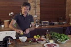Grilled Lamb Leg Steaks Recipe