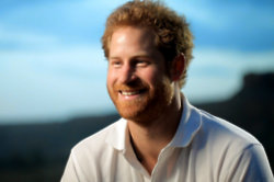 Prince Harry and the children of Lesotho