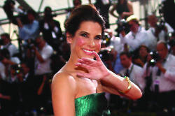 Sandra Bullock looked beautiful in Lanvin