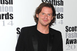 Christopher Kane at the Scottish Fashion Awards